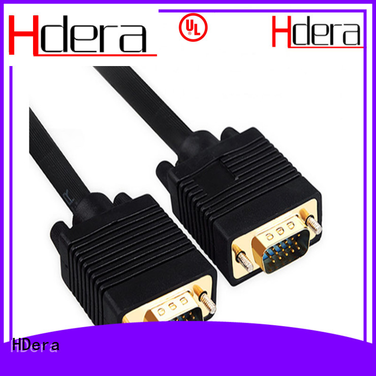 HDera vga to vga cable overseas market for image transmission