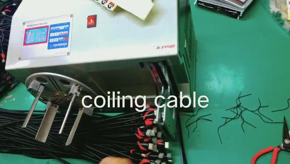 Coiling cable