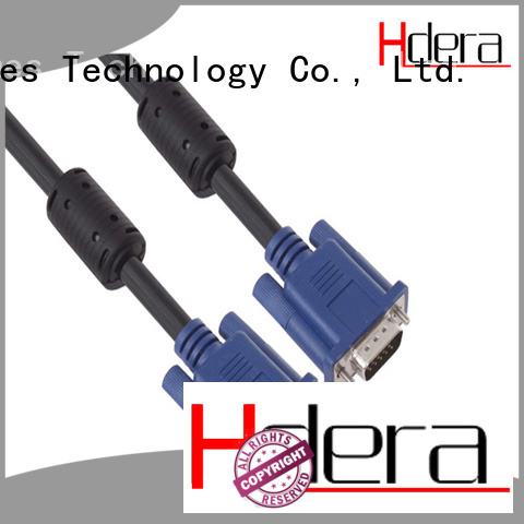 acceptable price 3+6 vga cable custom service for image transmission
