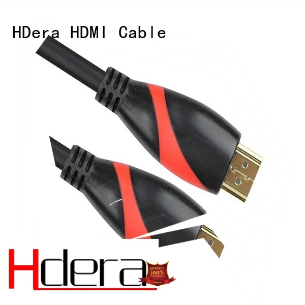 HDera widely used hdmi 2.0 high speed for audio equipment