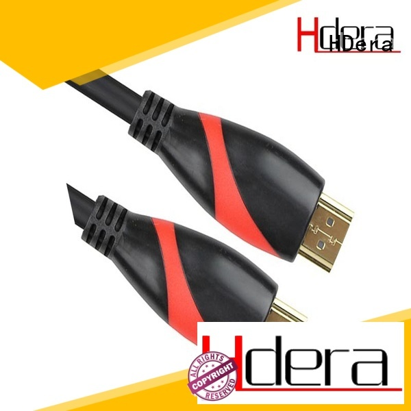HDera high quality hdmi 2.0 cable supplier for audio equipment