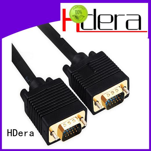 HDera vga to vga cable custom service for communication products