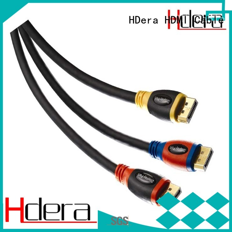 HDera durable dp cable 1.4 factory price for Computer peripherals