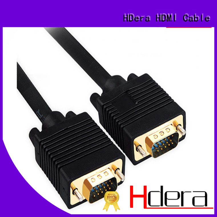 HDera acceptable price vga cord custom service for HD home theater