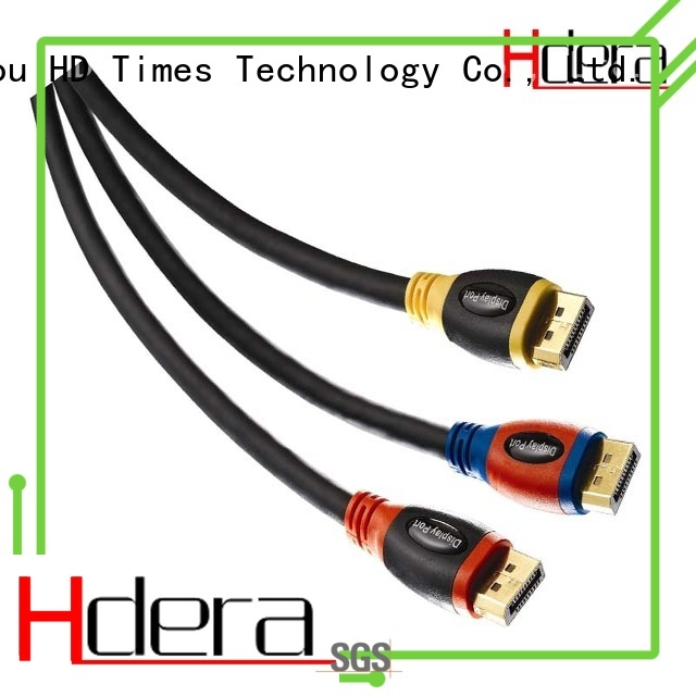 HDera dp cable 1.4 custom service for HD home theater