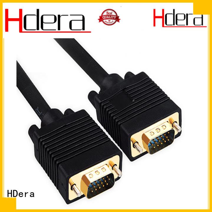HDera vga to vga cable overseas market for Computer peripherals