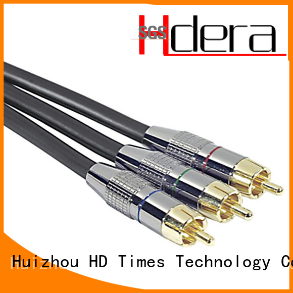 durable rca audio cable bulk production for communication products